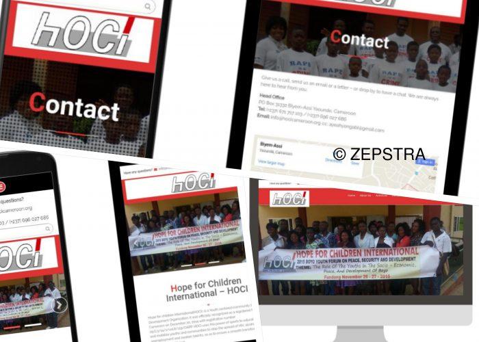 Zepstra Portfolio - HOCI
